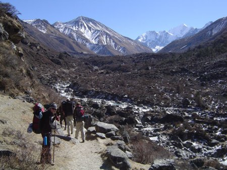 Between Langtang and Kyanjin Gompa